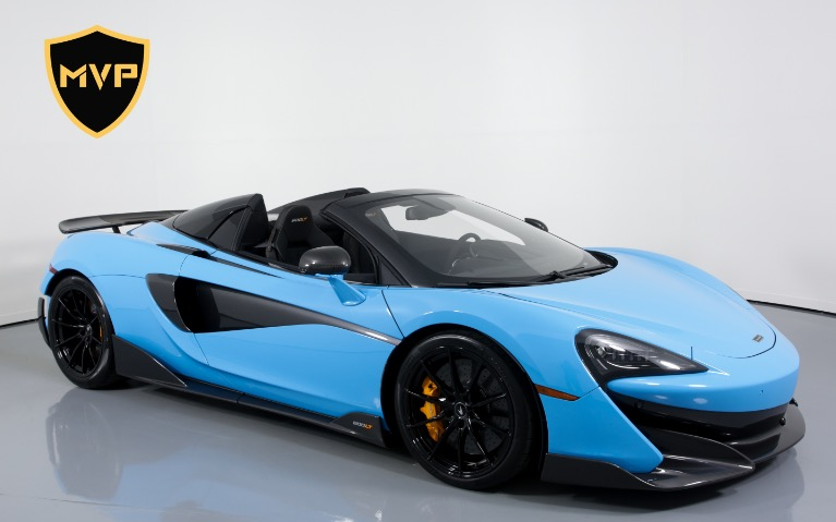 Used 2020 MCLAREN 600LT Spider for sale $1,299 at MVP Miami in Miami FL