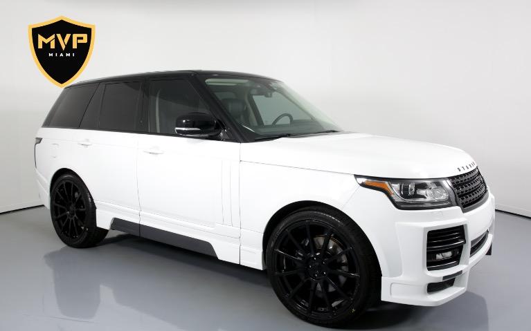 Used 0 Land Rover Range Rover STARKE for sale $375 at MVP Miami in Miami FL