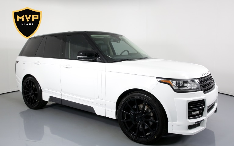Used 2014 Land Rover Range Rover STARKE for sale $549 at MVP Miami in Miami FL