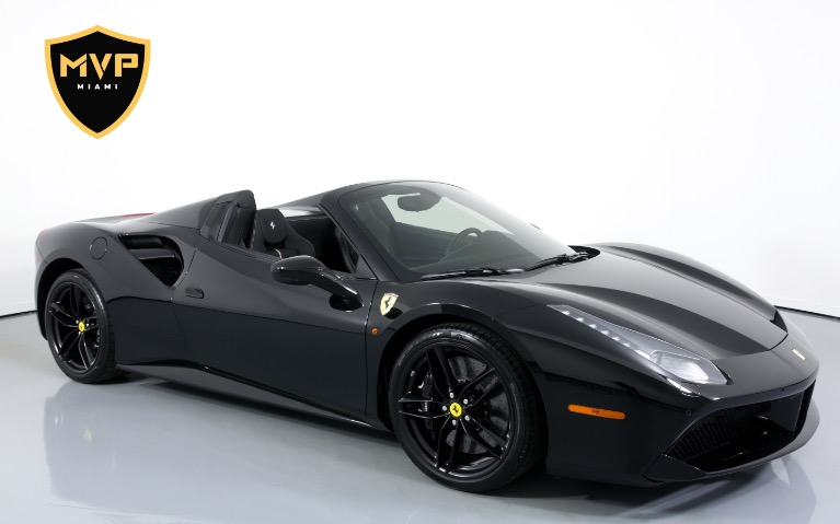 Used 2018 FERRARI 488 SPIDER for sale $1,599 at MVP Miami in Miami FL