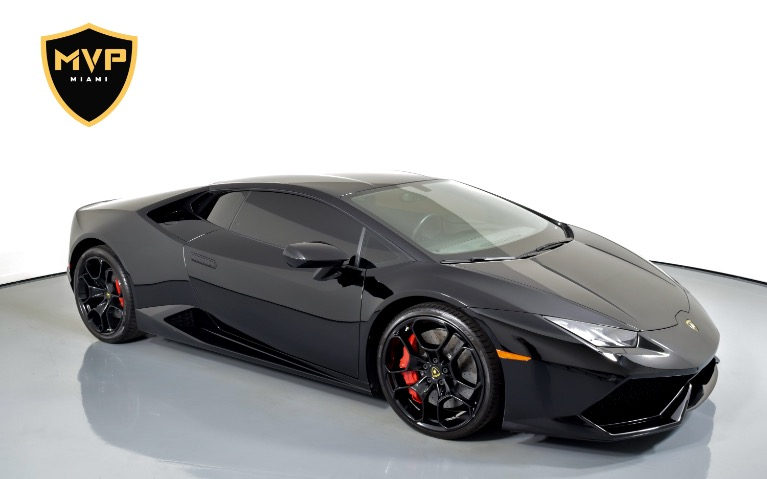 Used 2017 LAMBORGHINI HURACAN 580-2 for sale $999 at MVP Miami in Miami FL