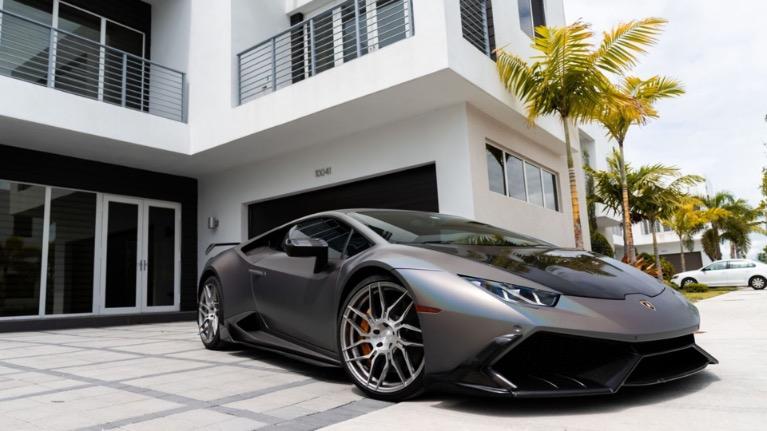 Used 2016 LAMBORGHINI HURACAN 610 MANSORY for sale $999 at MVP Miami in Miami FL