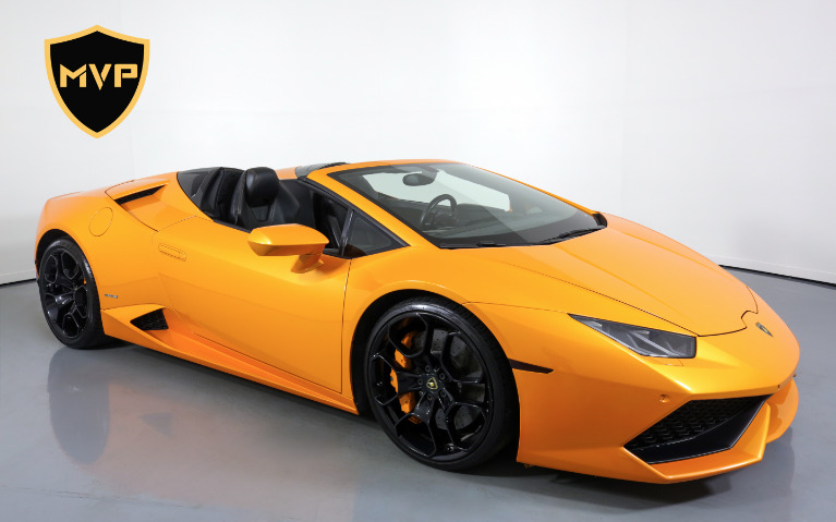 Used 2016 LAMBORGHINI HURACAN 610-4 SPYDER for sale $1,199 at MVP Miami in Miami FL