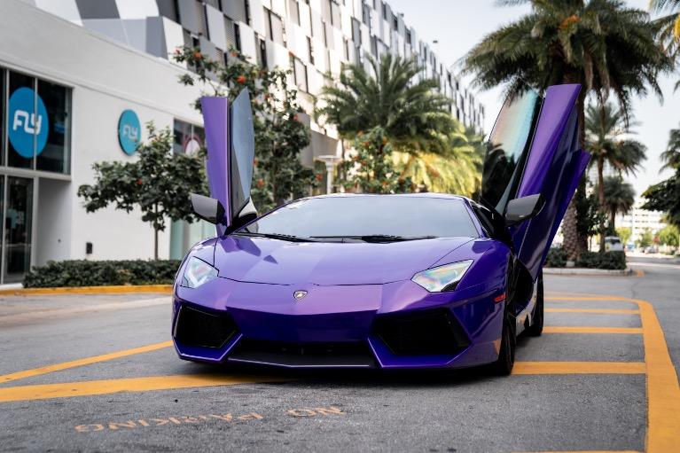 2014 LAMBORGHINI AVENTADOR for sale $1,899 at MVP Miami in Miami FL 33142 2