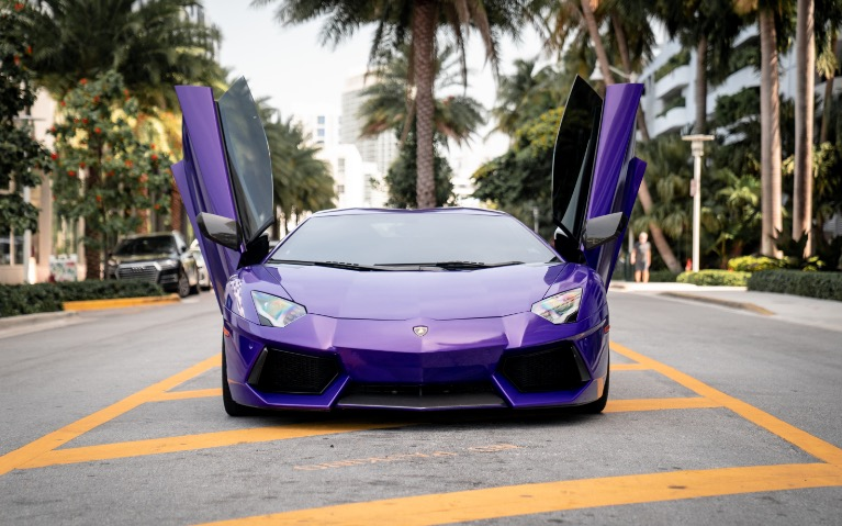 Used 2014 LAMBORGHINI AVENTADOR NOVITEC ROADSTER for sale $1,899 at MVP Miami in Miami FL