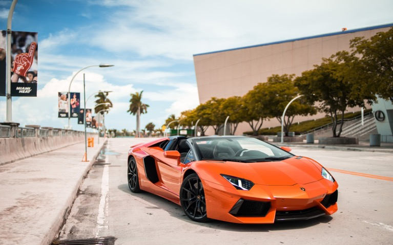 Used 2015 LAMBORGHINI AVENTADOR ROADSTER for sale $1,899 at MVP Miami in Miami FL