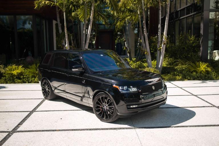 2015 Land Rover Range Rover for sale $449 at MVP Miami in Miami FL 33142 3