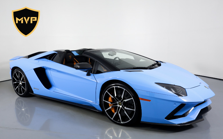 Used 2018 LAMBORGHINI AVENTADOR LP 740-4 S for sale $1,898 at MVP Miami in Miami FL