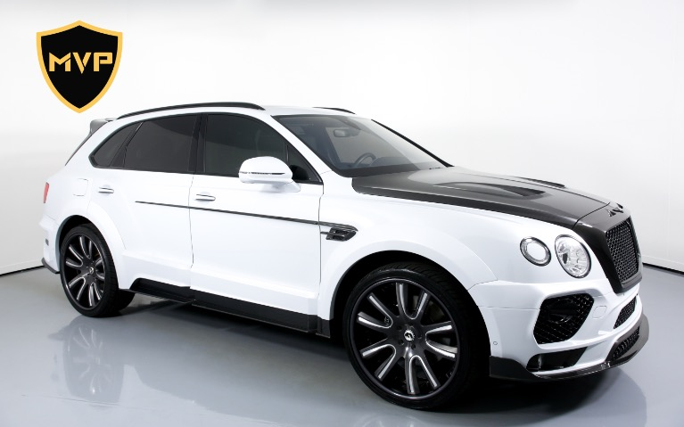 Used 2017 BENTLEY BENTAYGA W12 for sale $1,049 at MVP Miami in Miami FL