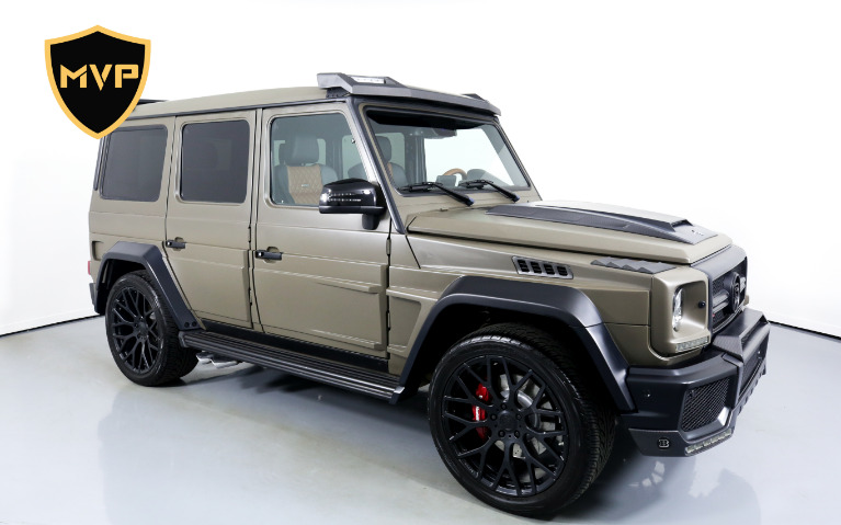Used 2017 MERCEDES-BENZ G63 BRABUS for sale $645 at MVP Miami in Miami FL