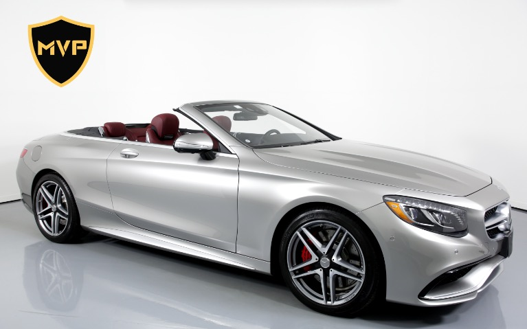 Used 2017 MERCEDES-BENZ S63 AMG CABRIOLET for sale $645 at MVP Miami in Miami FL