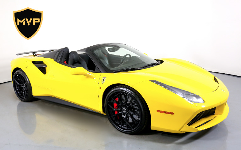 Used 2017 FERRARI 488 SPIDER for sale $1,599 at MVP Miami in Miami FL