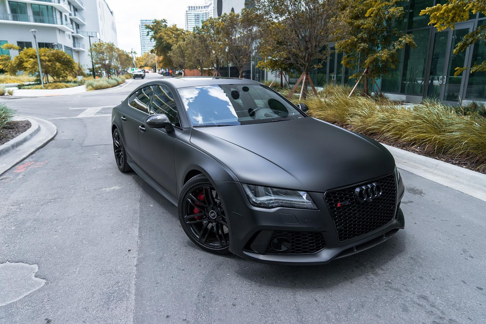 Cheap Auto Rentals >> 2016 Audi RS7 – Matte Black | MVP Miami