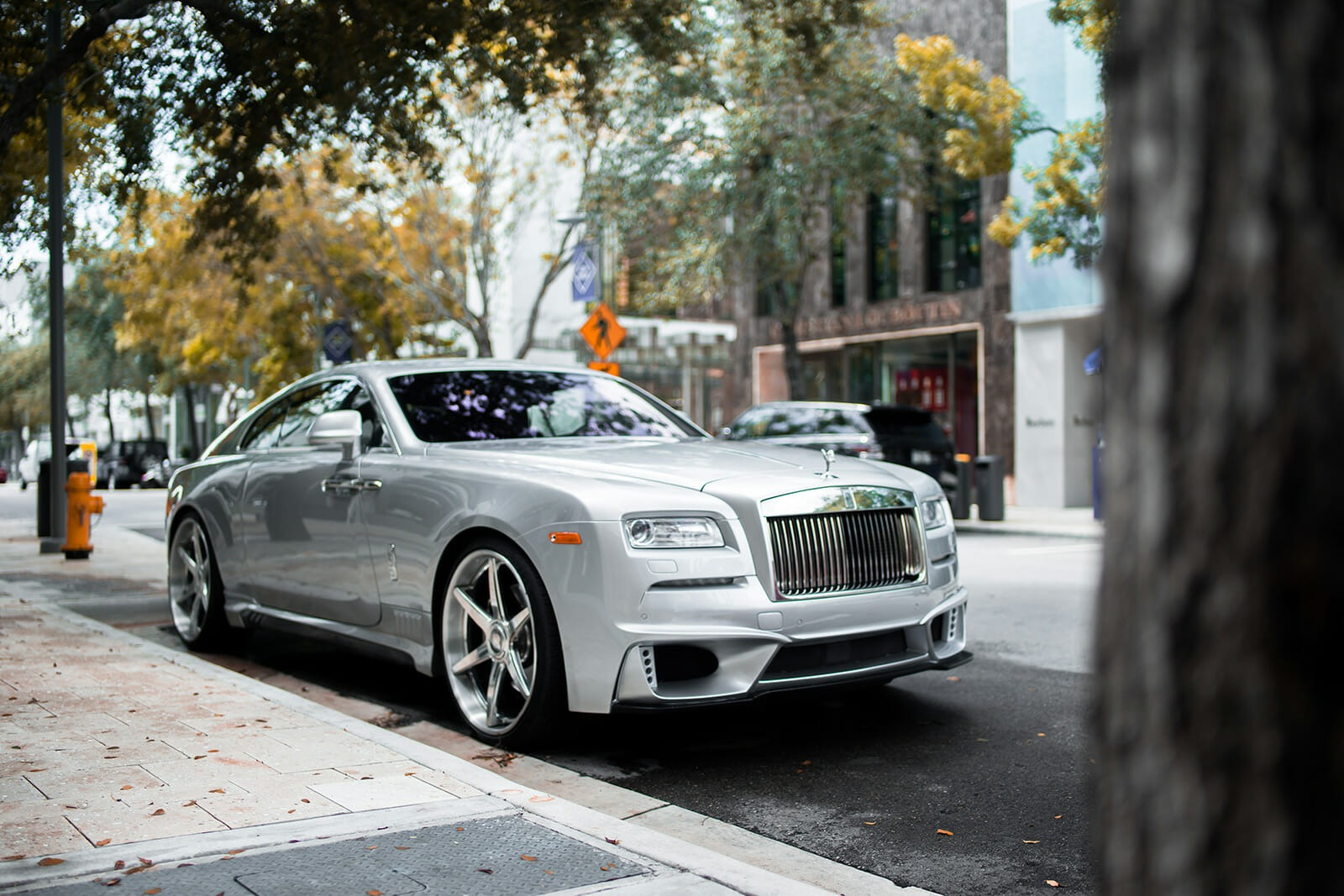 2015 Rolls Royce Wraith Wald Edition   ,