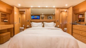 Zen Yacht Interior Bedroom