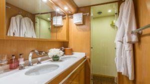 Zen Yacht Interior Bathroom