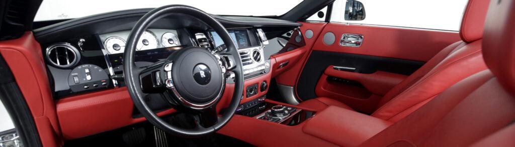 Rolls-Royce Dawn Rental Interior