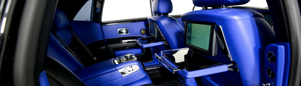 Rolls-Royce Ghost Rental Interior