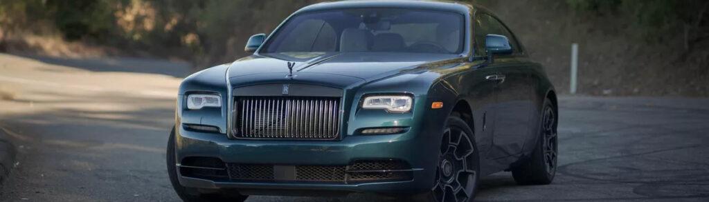 Rolls-Royce Wraith Rental Green
